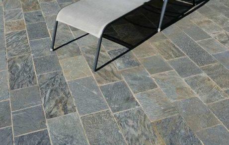 Terrasse calgary argentée
