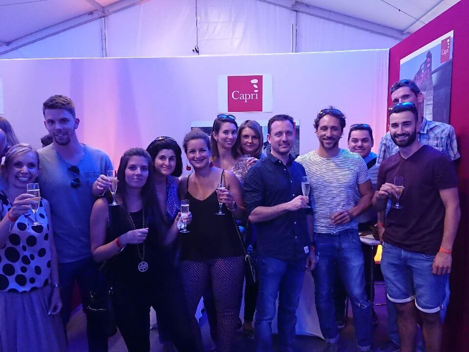 Capri, sponsor du festival de Bonneville