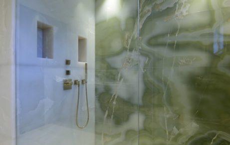 Salle de bain onyx green