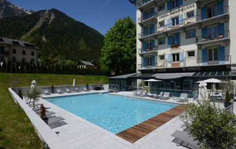 Hôtel Mont-Blanc – Terrasse grise