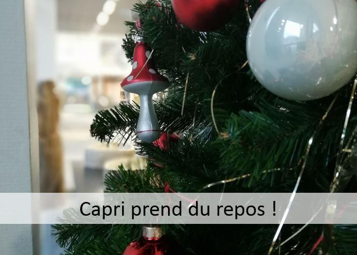 Capri prend du repos !